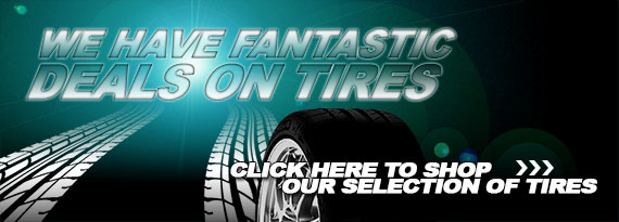 Shop Our Large Selection of Tires!
